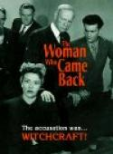 Woman Who Came Back (1945)