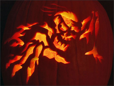 Pumpkin Carving - Free Halloween Pumpkin Carving Template - Jackolantern ...